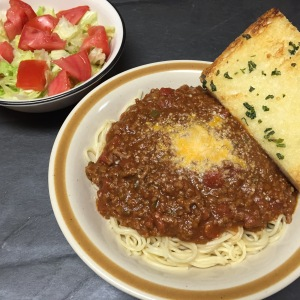 Cajun Spaghetti with Roux